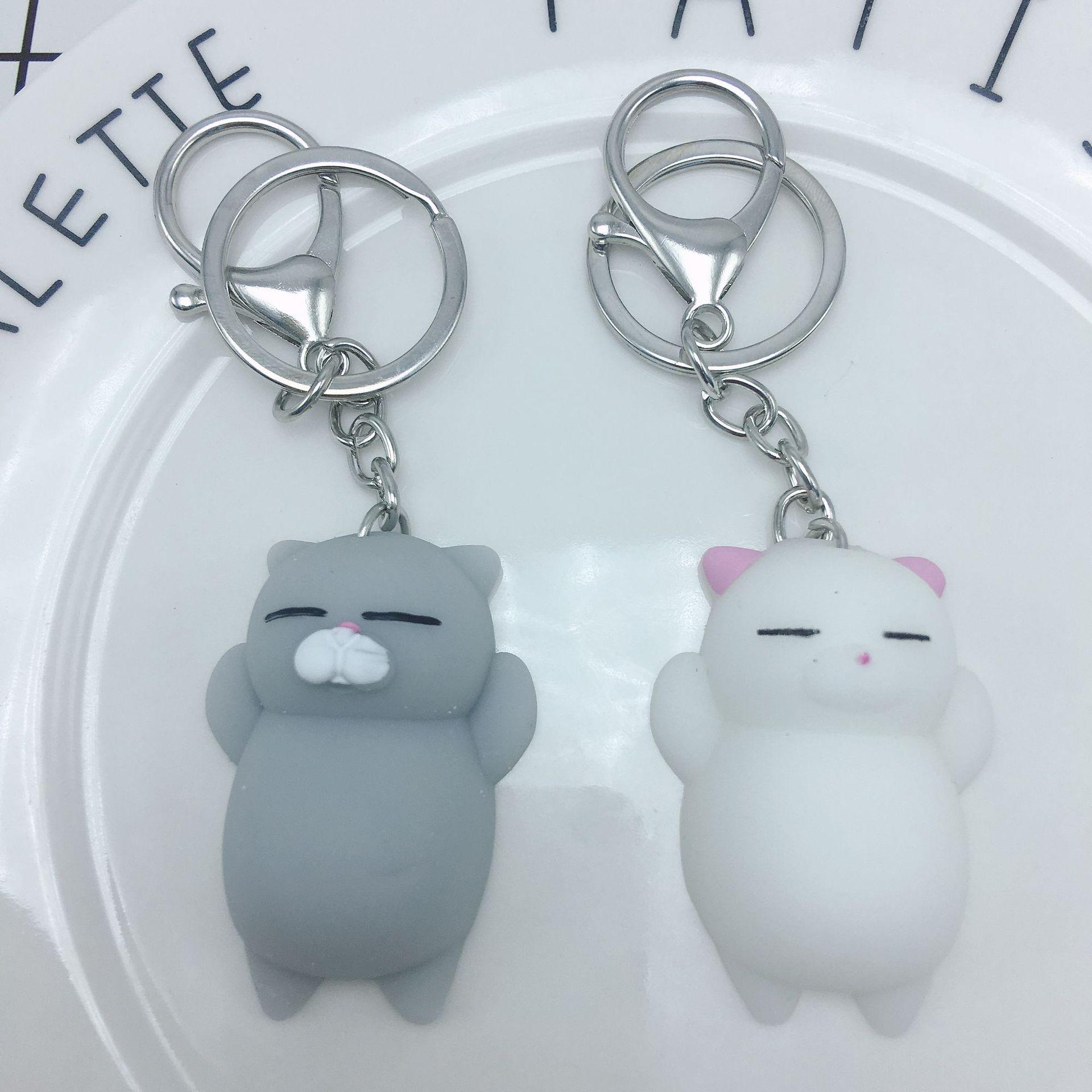 团子海豹北极熊 捏捏乐玩偶钥匙扣可爱团子玩偶钥匙扣玩偶超萌团子海豹 阿里巴巴