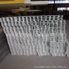 【承重井盖】50*25*3mm玻璃钢美化槽钢玻璃钢标志桩玻璃钢格栅