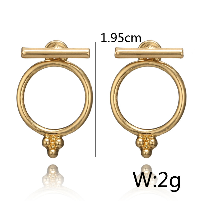 Alloy Fashion  earring NHGY1005-Alloy