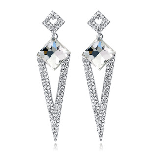 Exaggerated popular long earrings in Europe and America