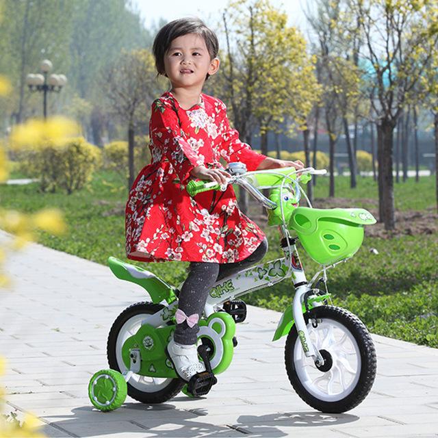 Geek bé xe ô tô bé trai và bé gái xe đạp 12/14/16 inch nhà máy mới bán trực tiếp Xe đạp