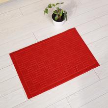 純色地墊門墊臥室門口地毯超薄蹭土腳墊廚房門廳吸水防滑墊批發