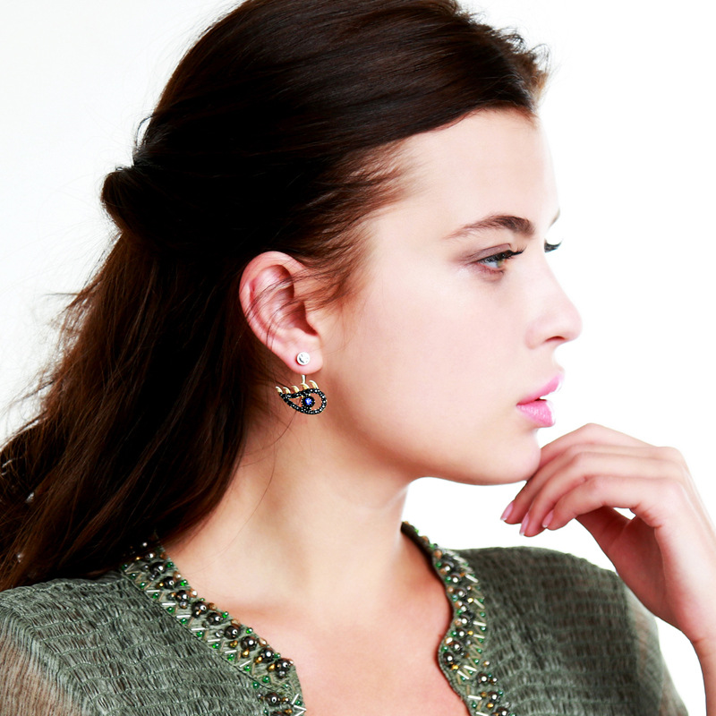 Alloy Fashion Animal earring(Photo Color) NHQD5085-Photo Color