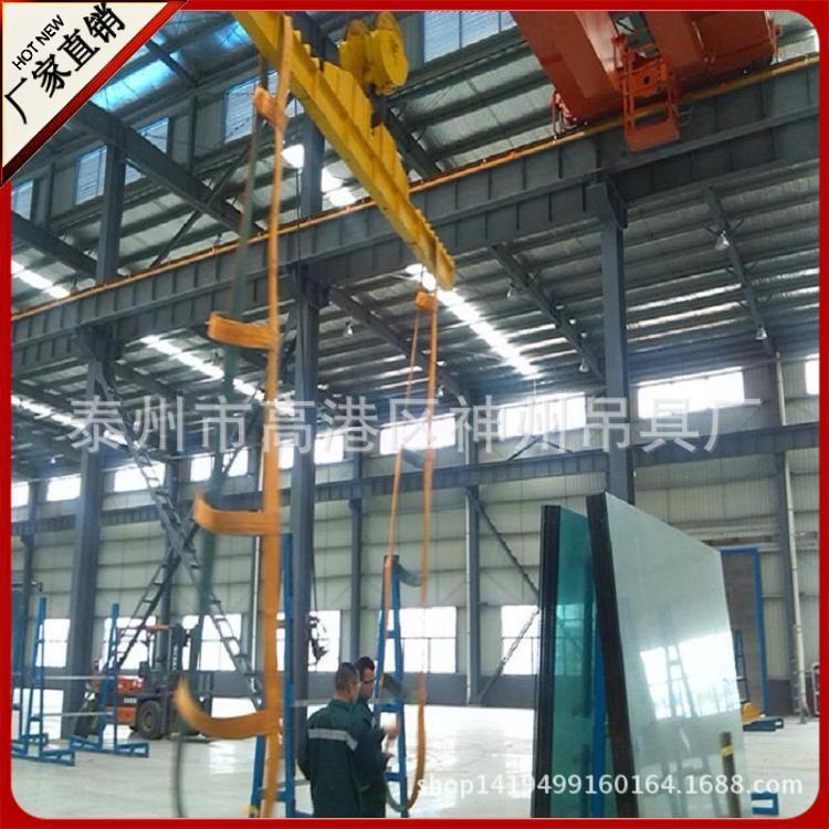 神州吊具 新年促销玻璃吊带 耐磨起重吊装带 聚酯防割扁平吊带