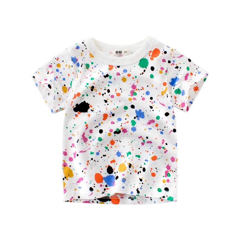 韩版童装夏季宝宝短袖儿童t恤衫 男童半袖上衣孩子的衣服批发网