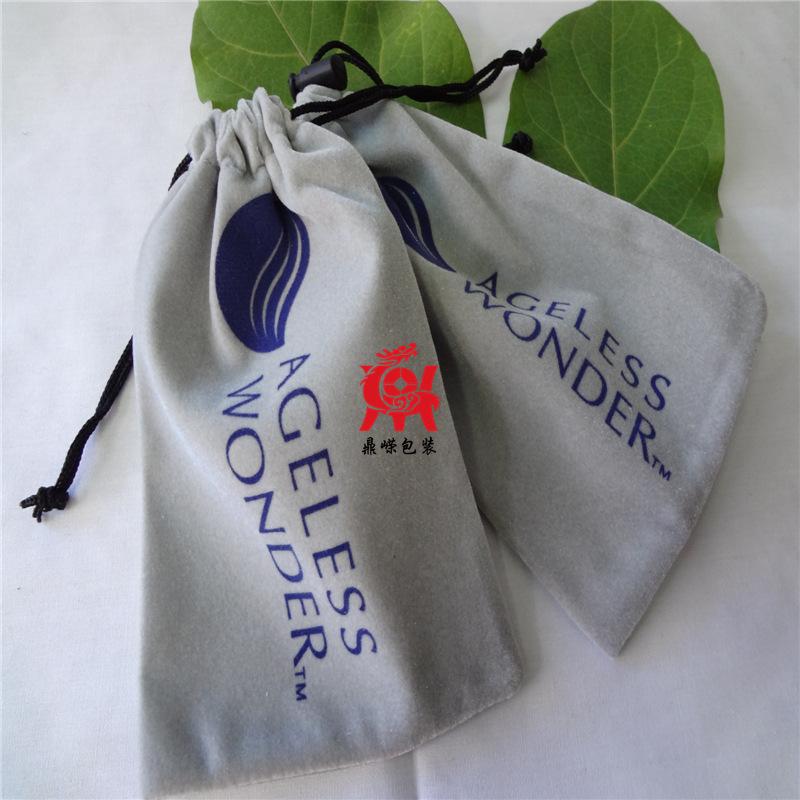 供应电子元器件绒布包装袋  礼品收纳绒布袋 【专业生产厂家】