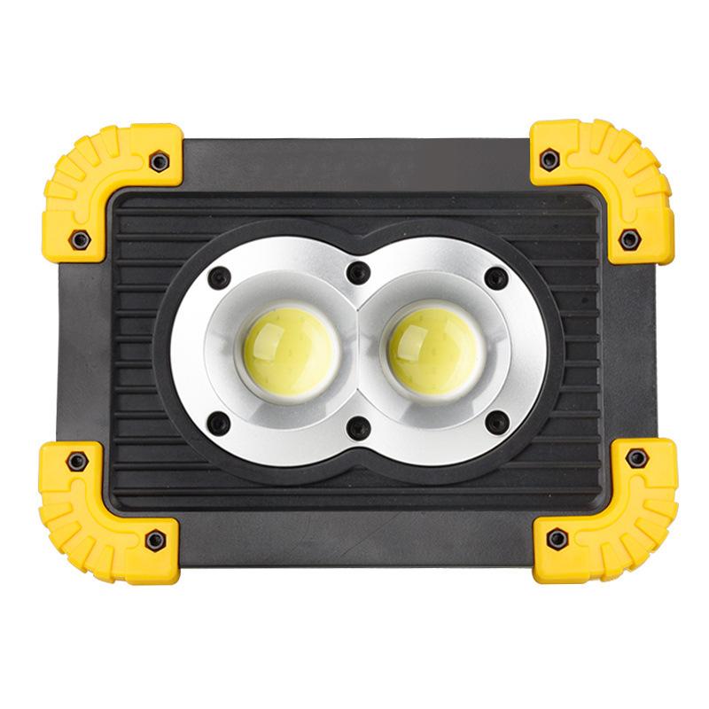 供跨境迷你野营灯COB工作灯户外便携式警示灯探照灯USB充电照明灯