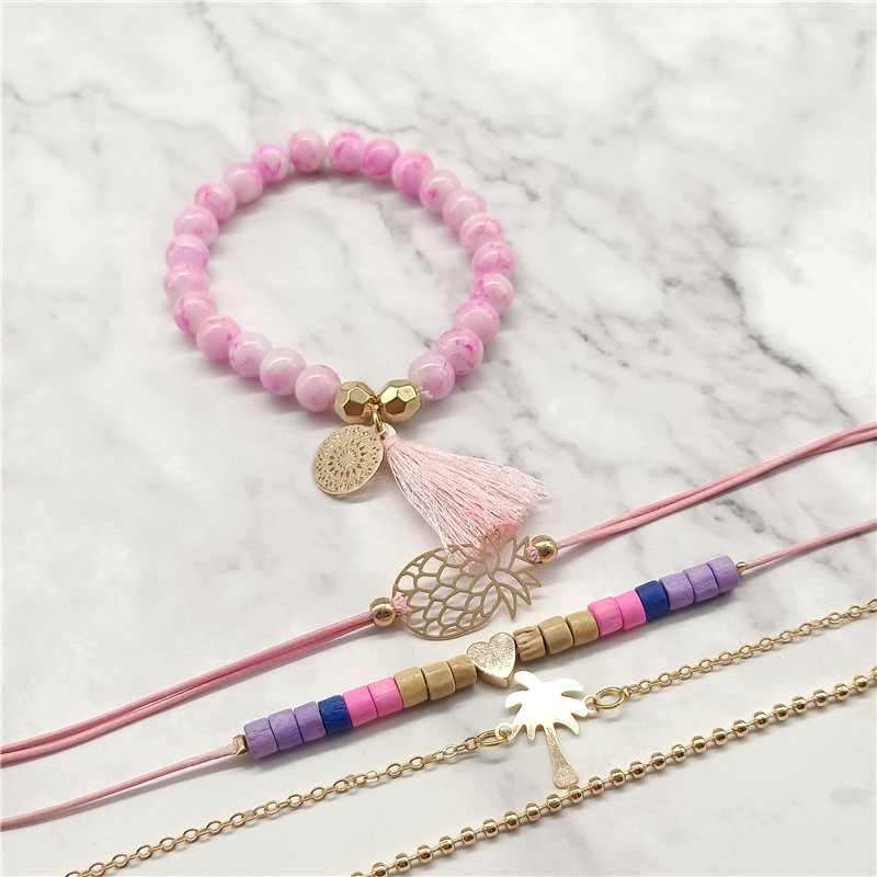 Alloy Fashion Tassel bracelet  (Alloy) NHNZ1067-Alloy