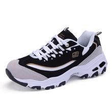 厂家直销 松糕厚底内增高款低帮系带反绒皮运动女鞋时尚潮鞋 批发
