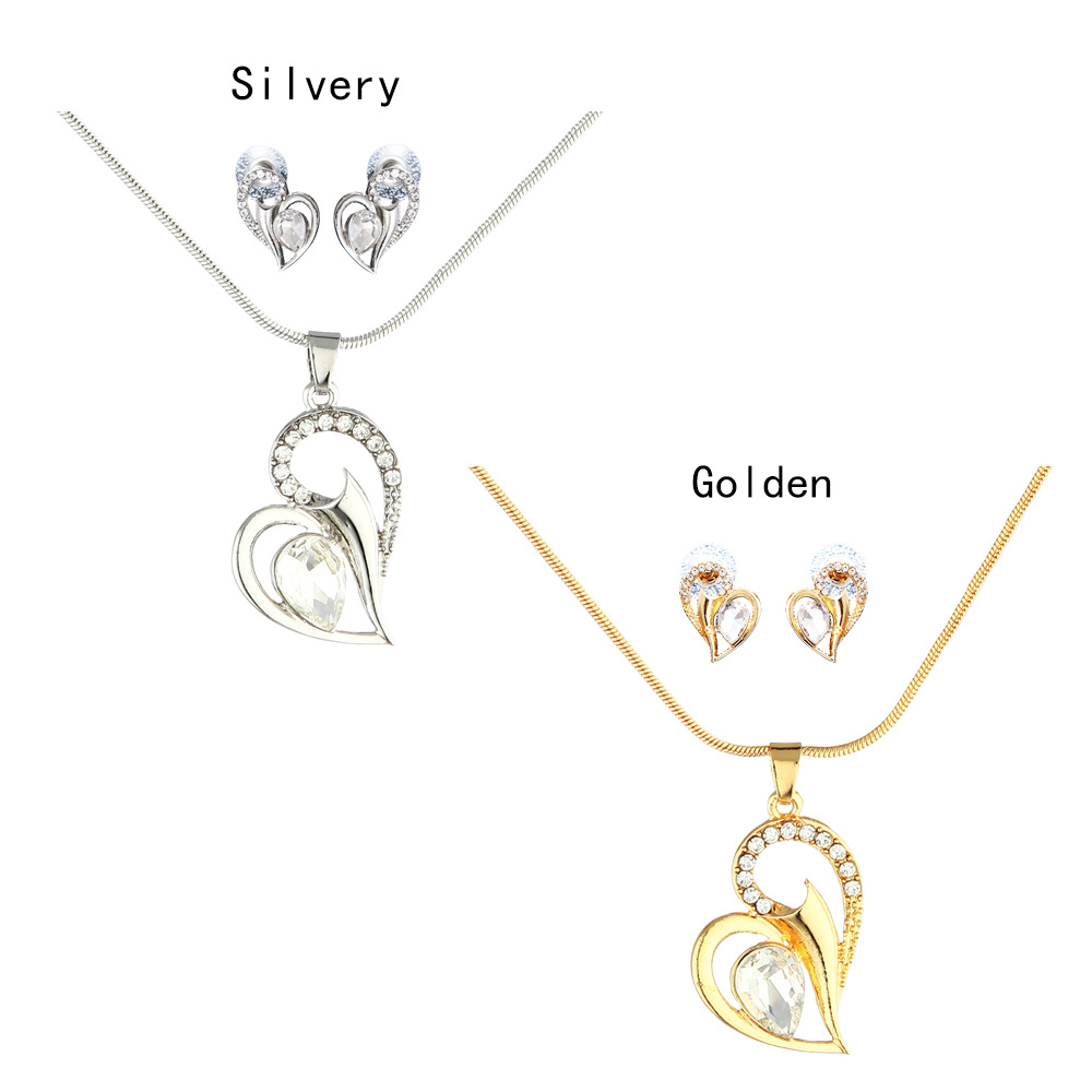 Alloy Fashionnecklace(Golden) NHNMD4366-Golden