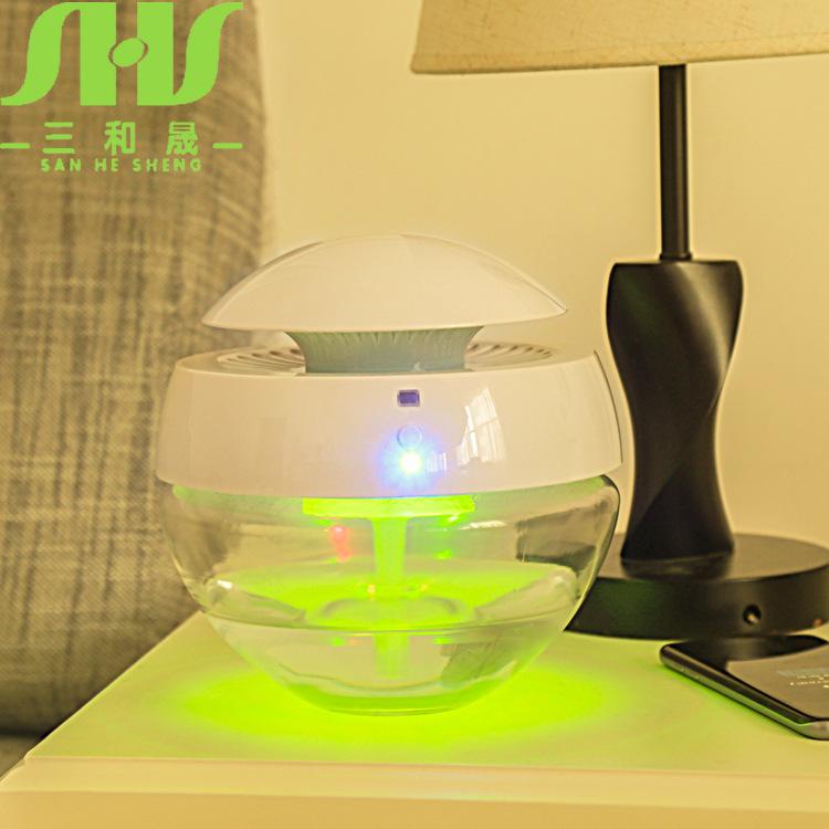 空气水净器欧式台灯厂家无线蓝牙音乐地摊新奇特产品充电led灯