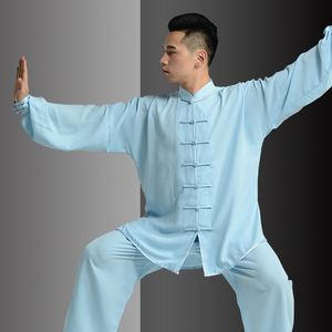 Cotton tai chi clothing kung fu uniforms for unisex martial arts training suit performance fitness suit for men and women