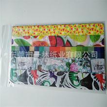 浙江拷贝纸印刷手工折纸装袋薄页拷贝纸印刷工艺品包装纸