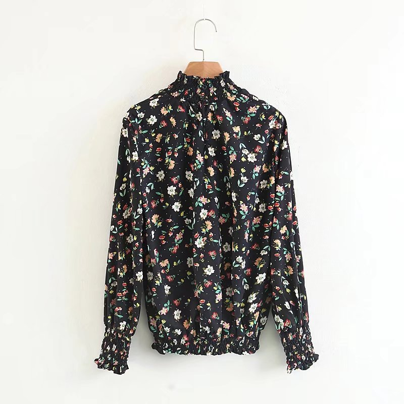 Sexy & Party Chiffon  shirt  (Picture color -S)  NHAM1503-Picture color -S