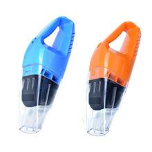 100W汽车吸尘器带颜色车载大功率干湿两用4米线手持充气泵吸尘器