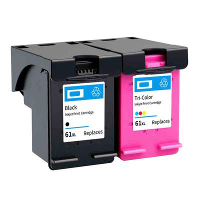 彩诺适用于HP61墨盒 hp Envy4500 HP2620 HP3510 HP1510黑色墨盒