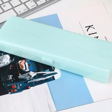 笔袋批发2018创意新款韩国塑料透明?#21487;?#21487;爱文具袋铅笔盒眼镜盒