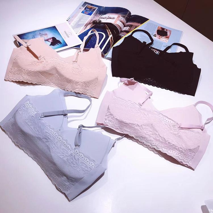 日本Sloggi冰丝二代降温性感套装无痕内衣无钢圈文胸安心运动内衣
