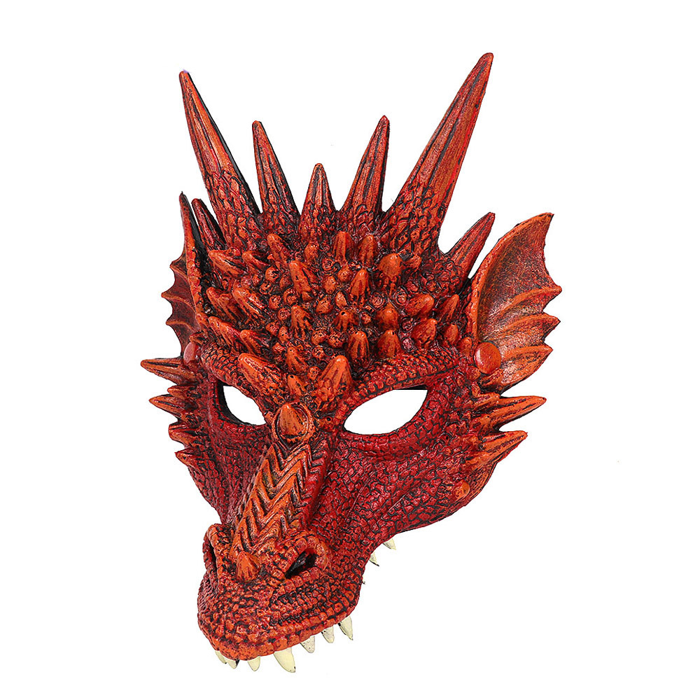 Acheter 3d Dragon Mask Carnaval Party Costume Animal