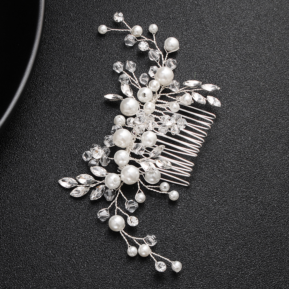 Beads Fashion Flowers Bridal jewelry  Alloy NHHS0510Alloy