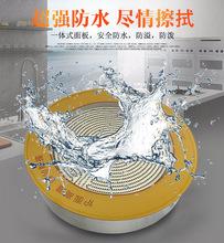 商用大功率圓形嵌入式電陶爐廠家透明鈦晶板光波線控陶瓷砂鍋專用