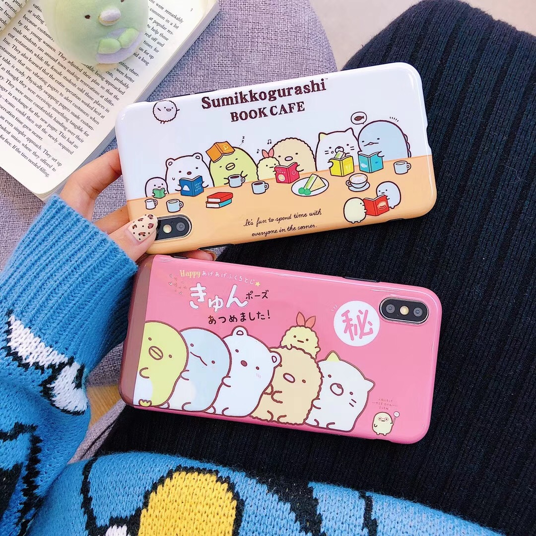 Good friend cute chick for iphoneXs MAX mobile phone case R apple 7/8plus soft shell 6s protective cover