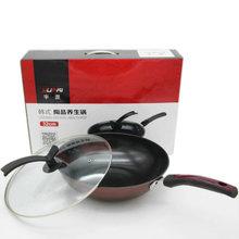 韓式養生炒鍋 陶晶不粘平底鍋 禮品套裝鍋具 超市鐵鍋 加厚32cm