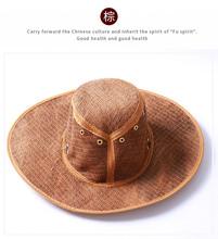 华誉蜀棕鞋垫厂批发地摊暴利产品促销道具山棕丝帽子大圆帽牛仔帽