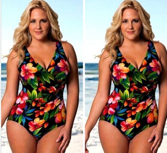 Polyester FashionLarge size swimsuit(Picture-S) NHXJ0080-Picture-S