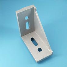 工业铝型材配件 4080强力角件 铝型材90度直角连接件 角码 铝角座