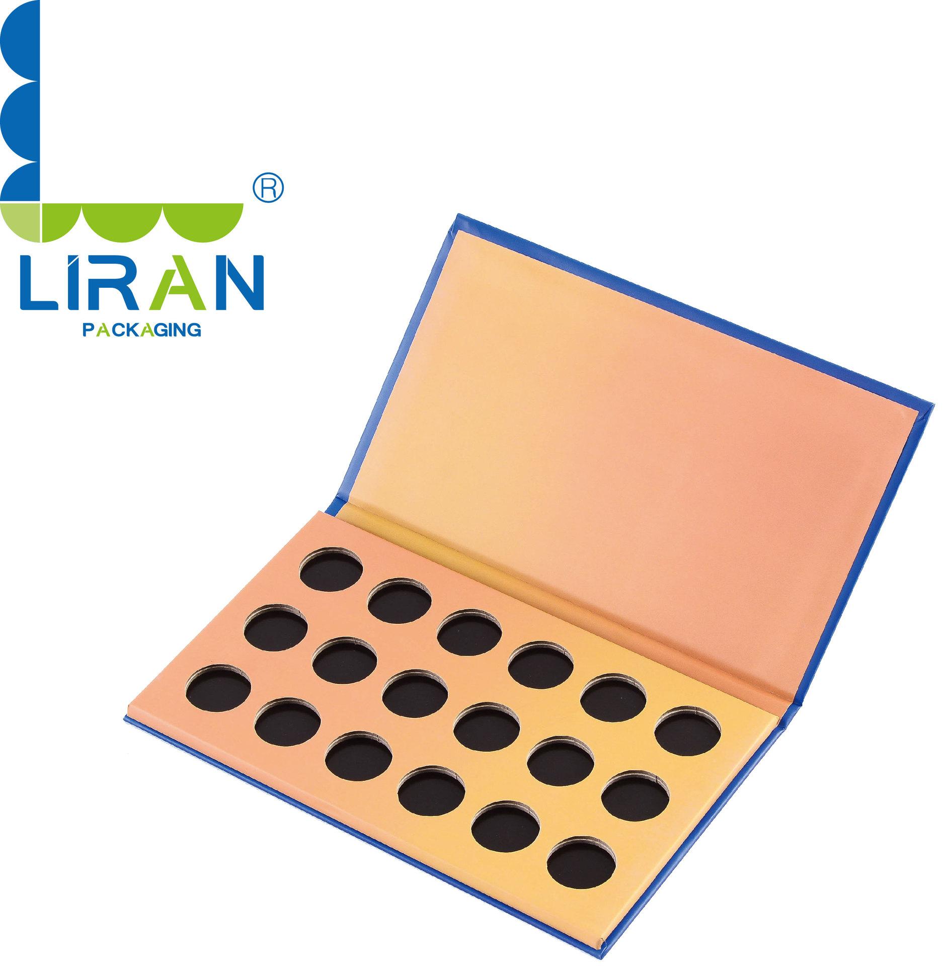 长期供应磁铁盒 眼影包装盒 化妆品盒子 高品质粉饼纸盒