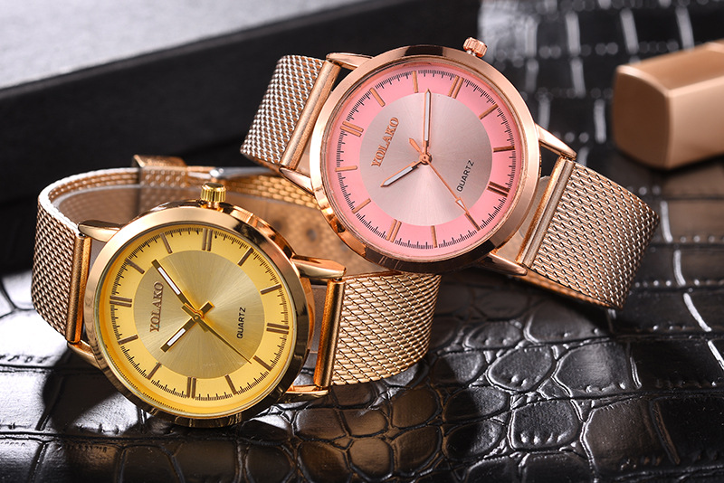 FashionWomen watch(Rose gold) NHSY1296-Rose gold