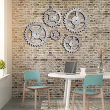 亚马逊爆款访旧齿轮墙饰 挂饰背景 酒吧咖啡馆家居装饰立体壁饰