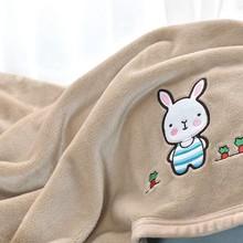 休闲单人折叠膝盖毯加厚保暖办公室盖腿毯子毛毯懒人空调房斗篷小