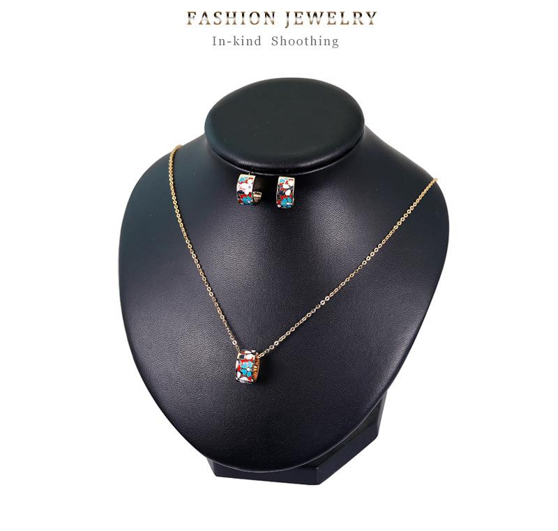 Copper Fashion  Jewelry Set  (CA582-A) NHDR2836-CA582-A