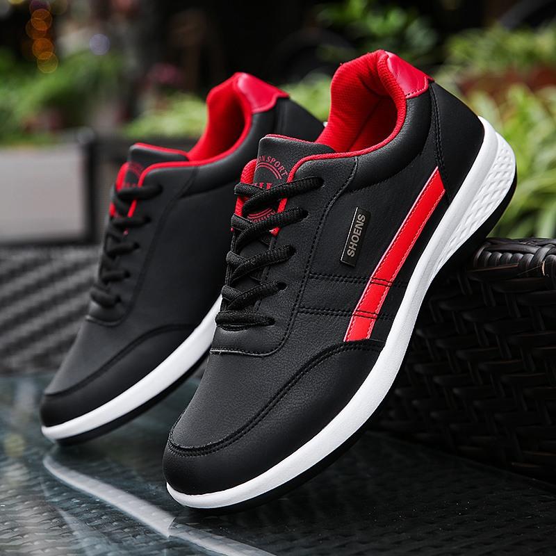 春季男鞋韩版时尚潮鞋新款男士跑步休闲鞋板鞋防滑运动鞋厂家直销