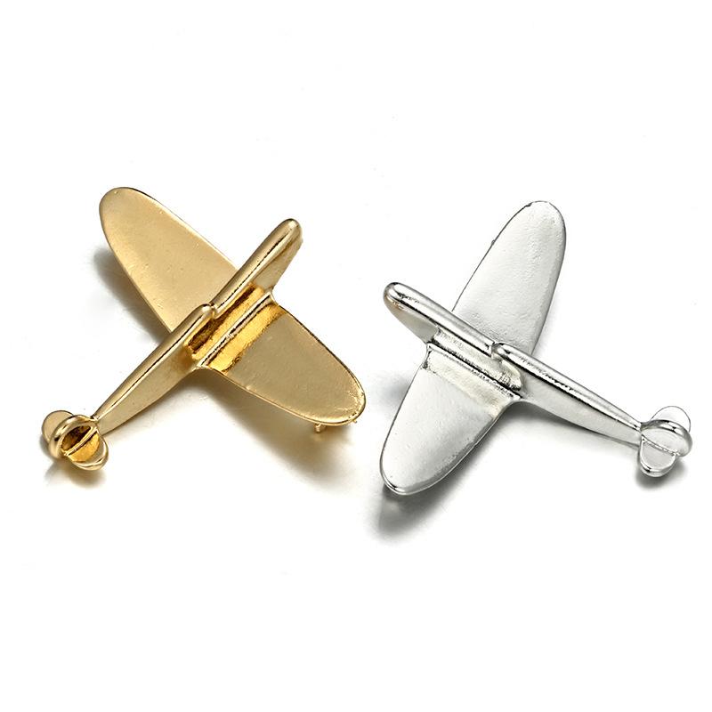 Alloy Fashion Geometric brooch(Golden) NHGY1760-Golden