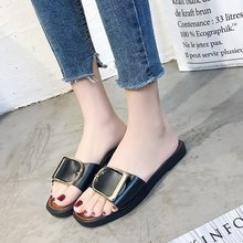 Women's slippers, women's shoes, wish hot style.拖鞋女2019夏