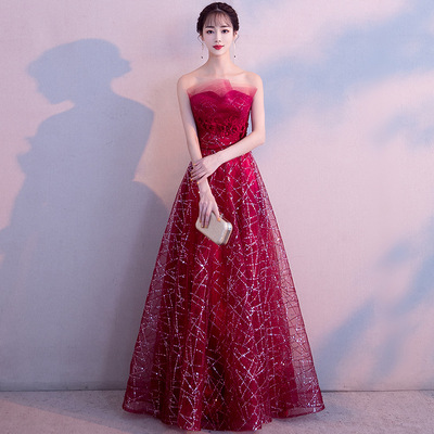 Bridal dressEvening dresses prom dress Vestidos de noche evening gowns wedding party evening dress and skirt