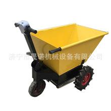 广西工地电动手推车 晟诺工程三轮车 省力电动工具车生产厂家