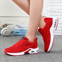 2018新款半掌气垫鞋女透气鞋飞织运动鞋休?#20449;?#27493;鞋韩版学生女鞋