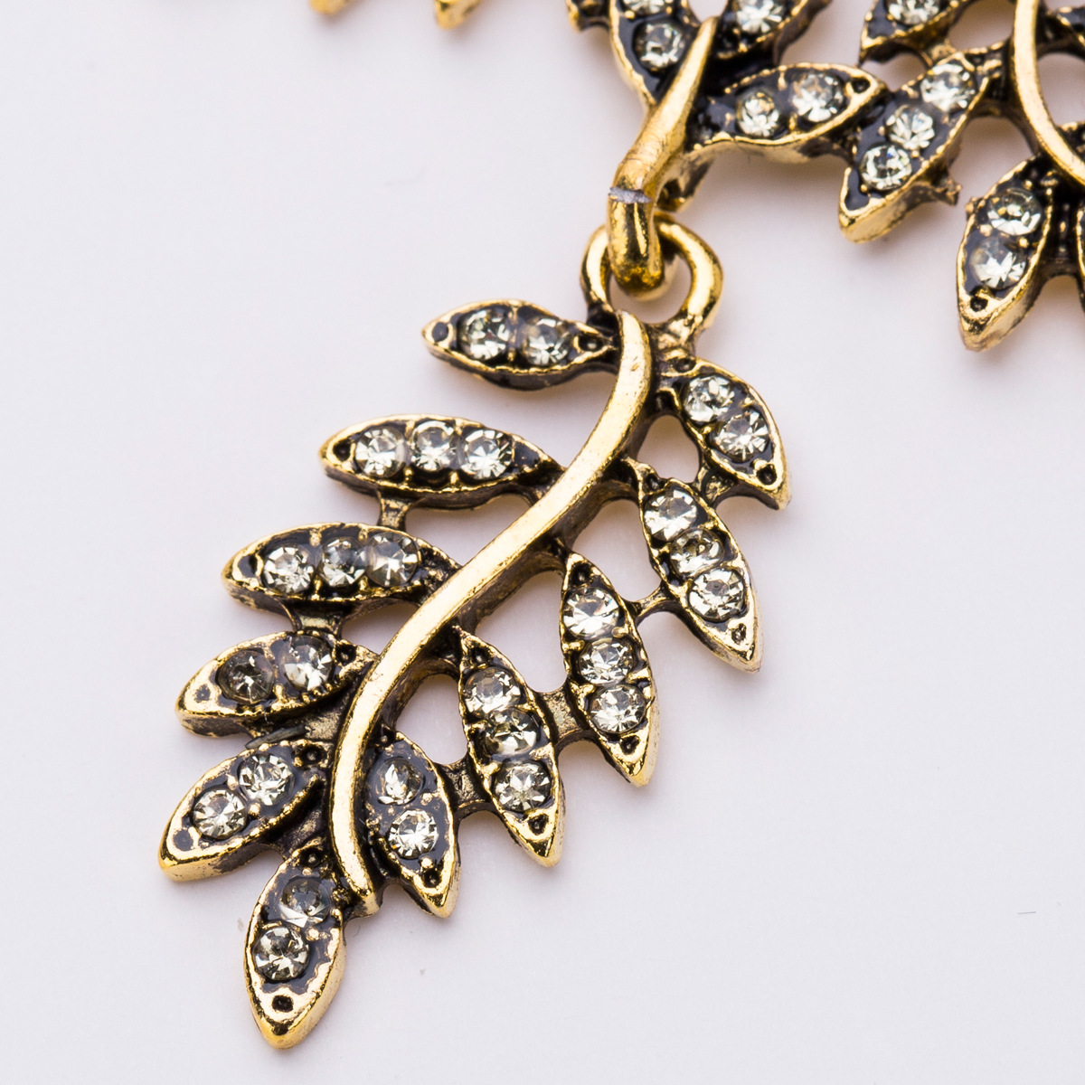 Alloy Fashion Geometric earring(Golden) NHJE1183-Golden