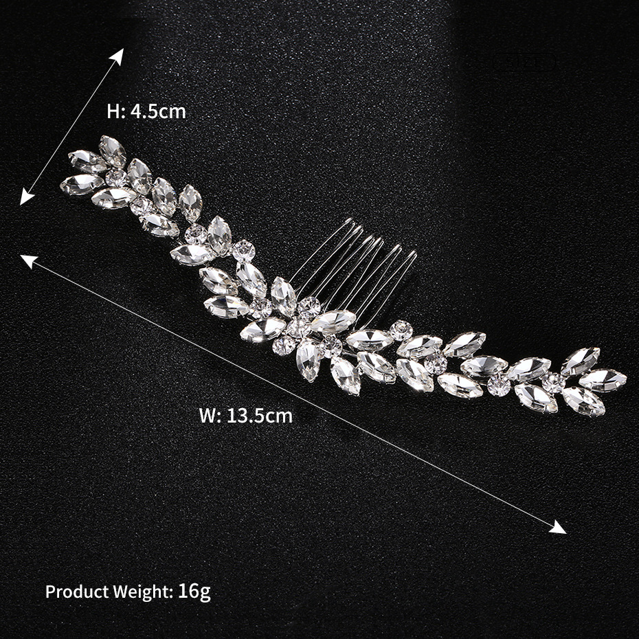 Alloy Fashion Geometric Hair accessories  (Alloy) NHHS0009-Alloy