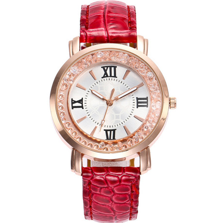 Đồng hồ đeo tay nữ mô hình nổ xuyên biên giới đồng hồ cát thạch anh thời trang mới vành đai sinh viên đồng hồ nữ mô hình tại chỗ
