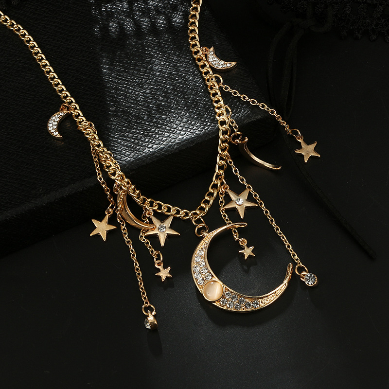 Alloy Simple Tassel necklace  Alloy NHGY2302Alloy
