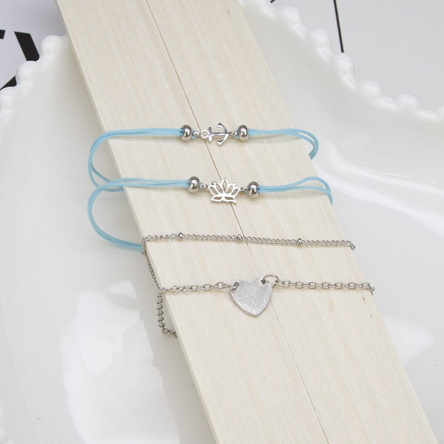 Alloy Fashion Sweetheart Jewelry Set  (Photo Color) NHBQ1685-Photo-Color