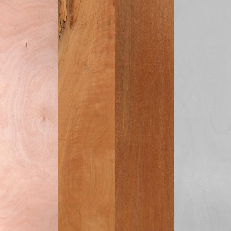 厂家供应奥古曼贴面胶合板花柳各种木皮夹板 可定制贴面三合板