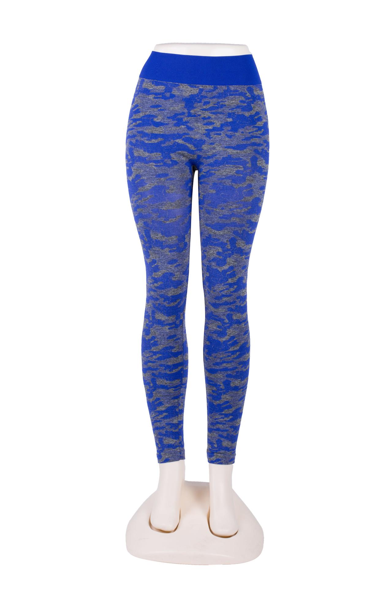 camouflage multicolor hip high waist yoga pants NSLX9680