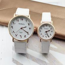 新款阿拉伯數字皮帶手表 男女時尚創意石英腕表 情侶手表現貨批發