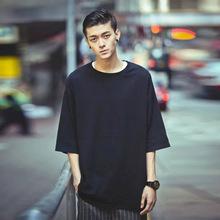 2018?#21512;?#30007;?#34892;鋞恤新品韩版男装五分袖个性潮流大码男装 一件代发